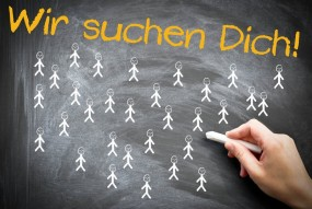 We want You Wir suchen Dich